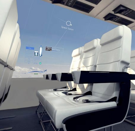 Airplane with Screen Walls