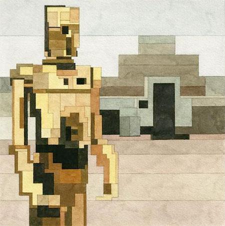8-Bit C-3PO