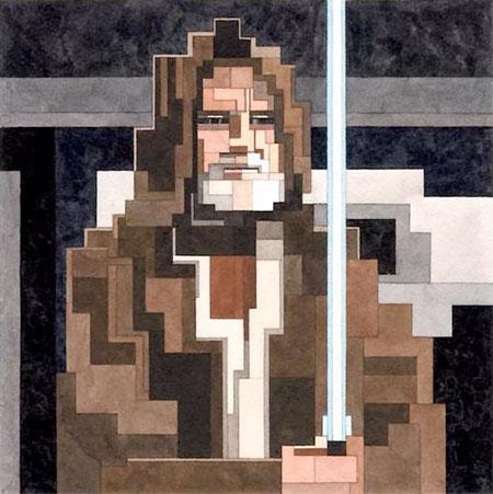 8-Bit Obi Wan Kenobi