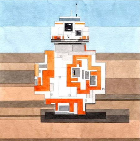 8-Bit BB-8