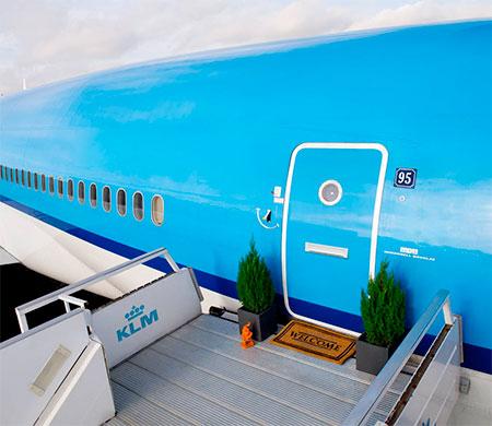 KLM Airplane Apartment