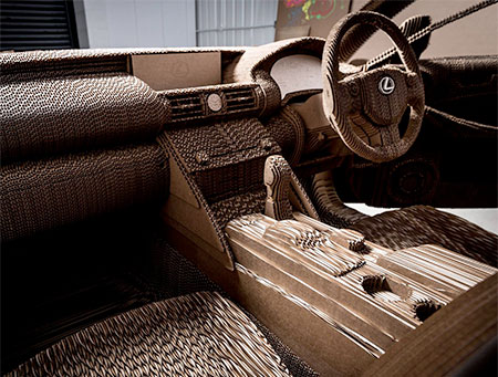 Origami Inspired Car