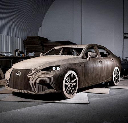 Functional Cardboard Car
