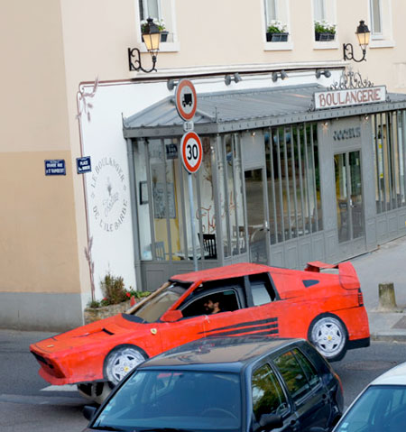 Ferrari Costume for your Car