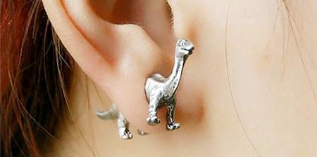 Dinosaur Earrings
