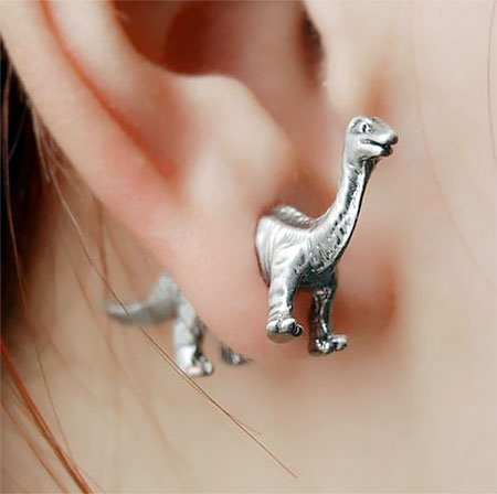 T-Rex Earrings