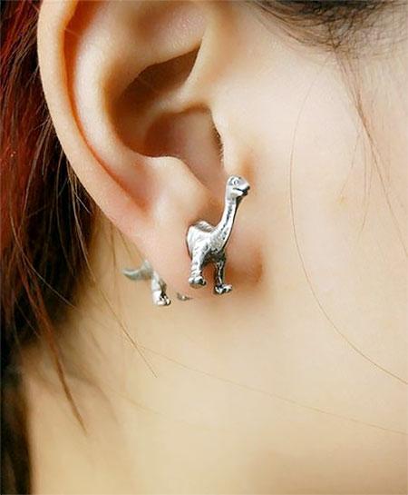 Dino Earrings