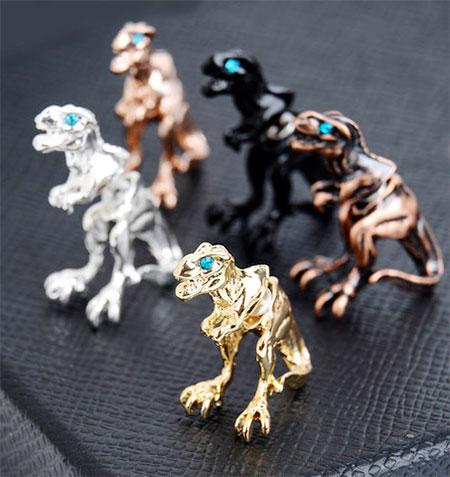 T-Rex Stud Earrings