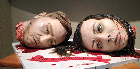 Horror Wedding Cake
