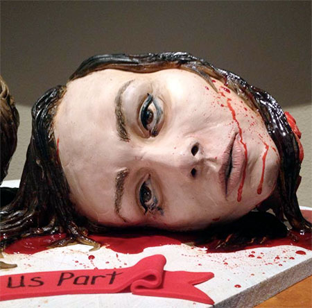 Sideserf Horror Wedding Cake