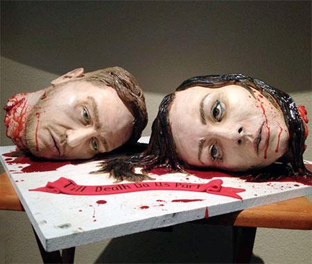 Till Death Do Us Part Cake