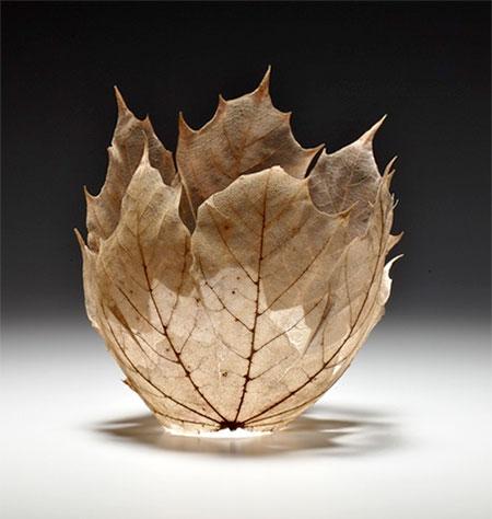 Kay Sekimachi Leaf Bowl