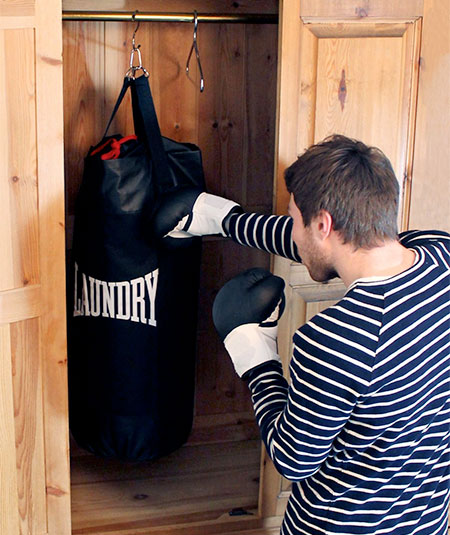 Laundry Bag Punching Bag