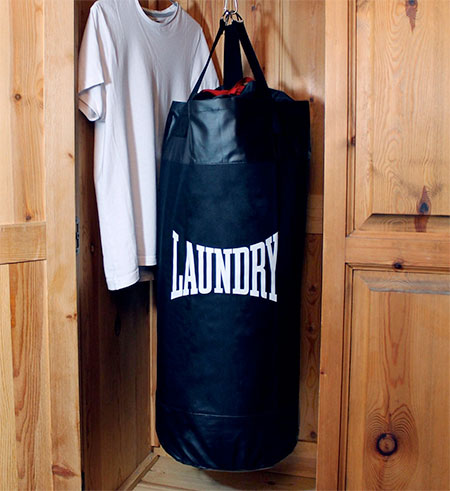SUCK UK Laundry Punching Bag