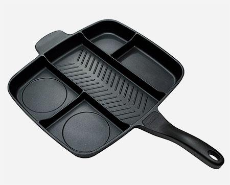Divided Frying Pan