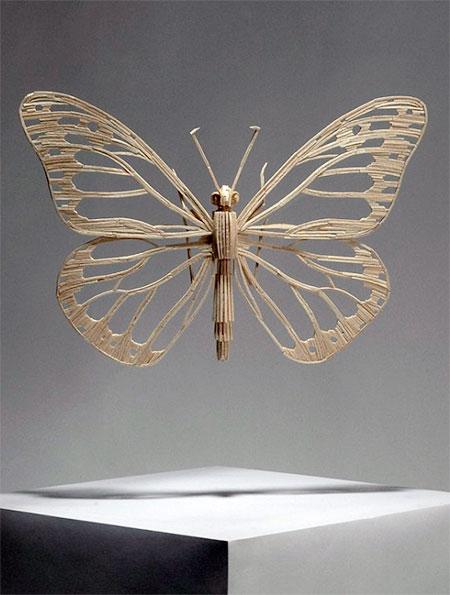 Matchstick Butterfly