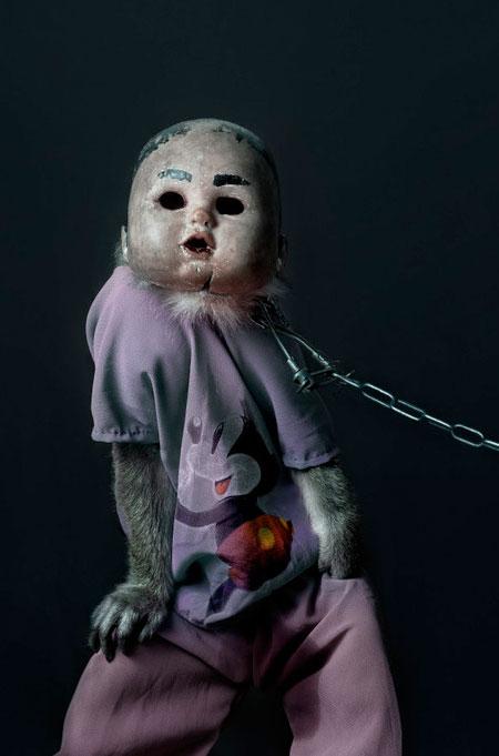 Monkey Doll Mask