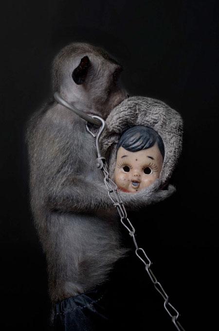 Monkey Doll Masks