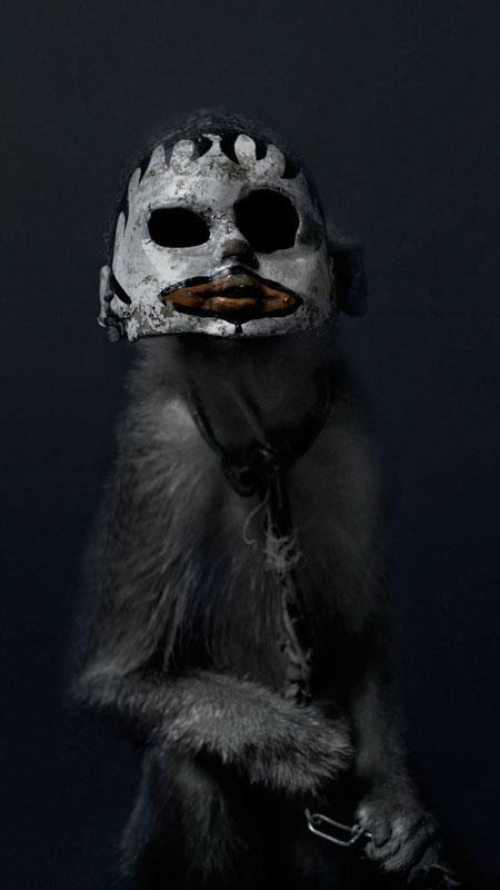 Perttu Saksa Monkeys in Doll Masks