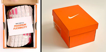 Nike Box for Flexible Shoes