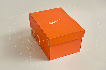 Flexible Nike Shoe Box