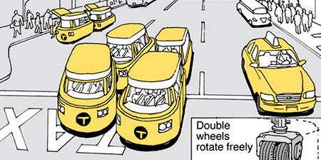 New York Taxi Concepts