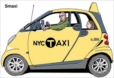 New York Taxi Concept