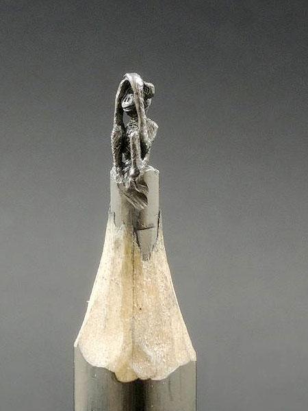 Pencil Tip Sculptures