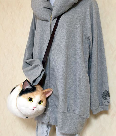 Realistic Cat Handbags