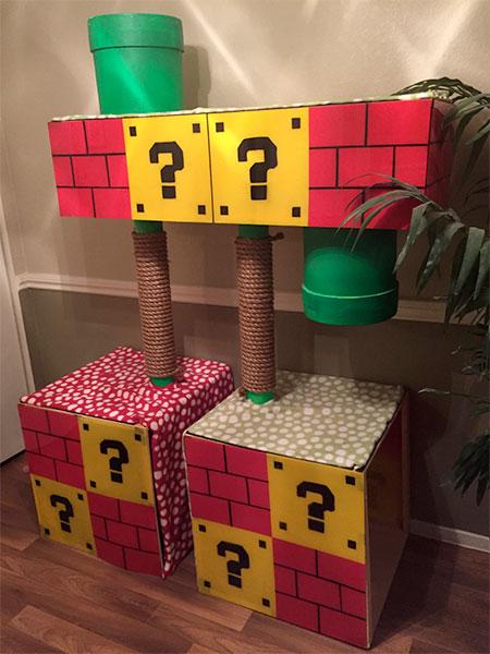 Super Mario Cat Tree