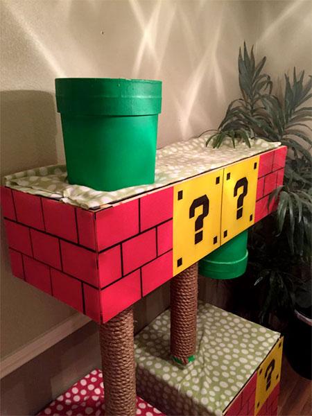 Super Mario Cat Treehouse