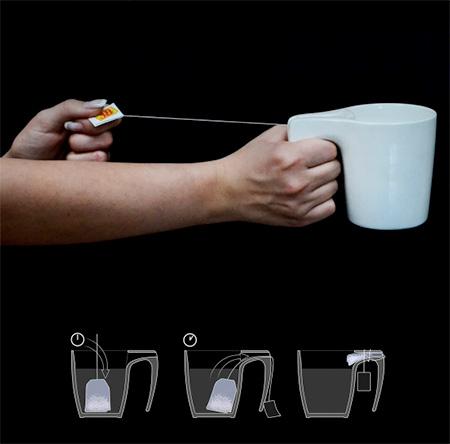 Tea Bag Slingshot Cup