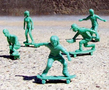 Toy Skateboarder