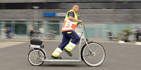 Electric Treadmill Bicycle