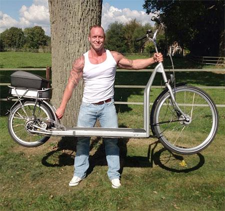 Electric Treadmill Bike