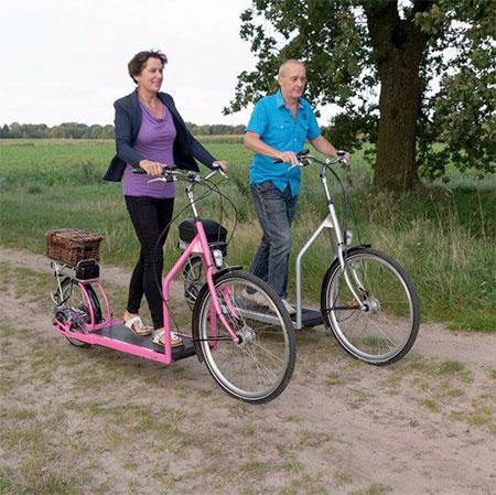 Treadmill Bicycle