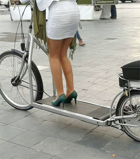 Treadmill Bike