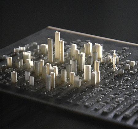 3D Printed Landcapes
