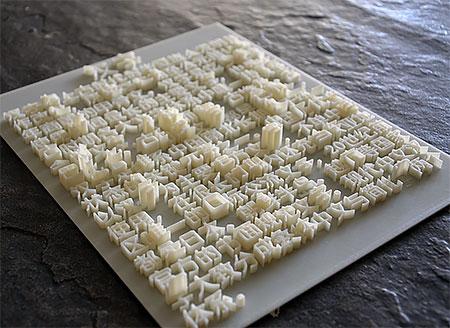 3D Printed Textbook