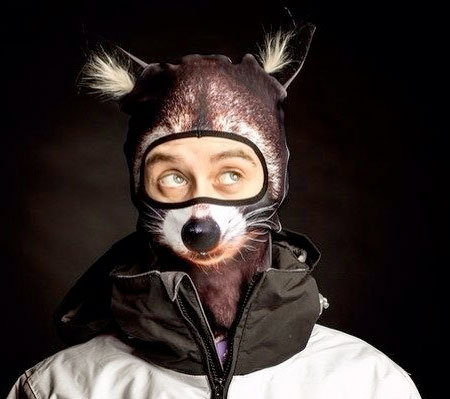 Racoon Ski Mask