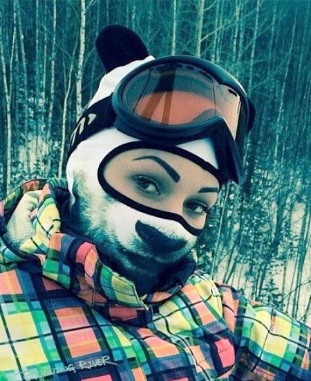 Panda Ski Mask