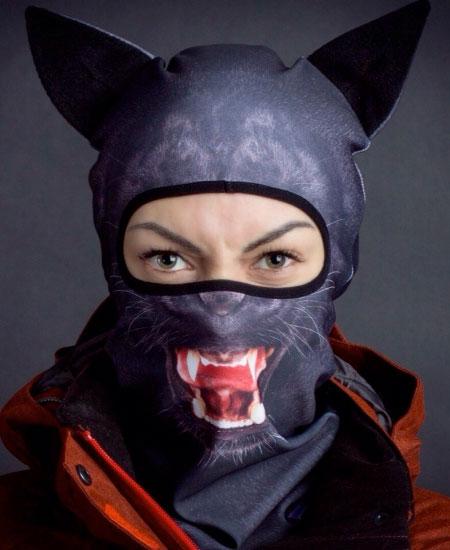 Panther Ski Mask
