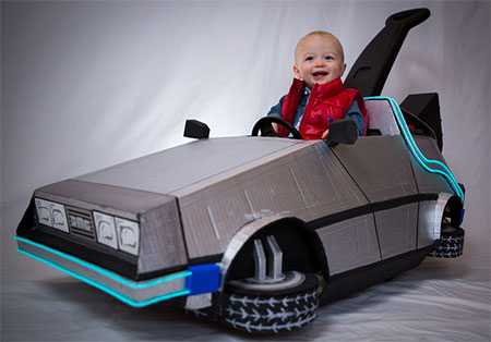 DeLorean Push Car