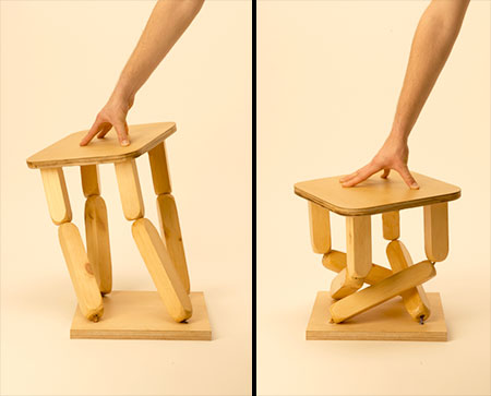 Mary Graham Collapsible Stool