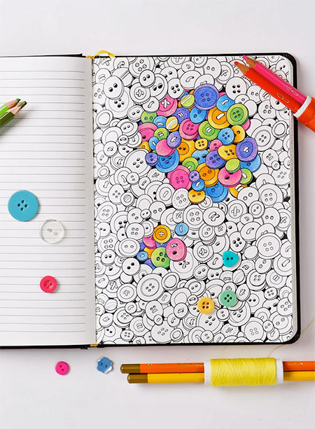 Colouring Notepad