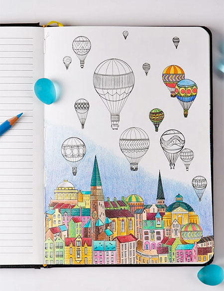 Coloring Notebook for Adults