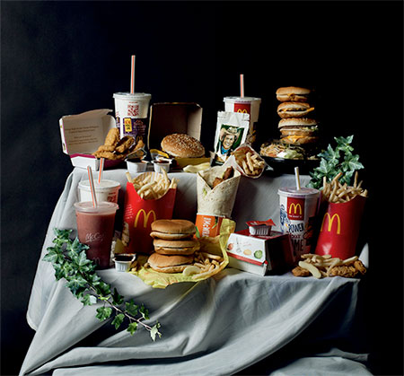 Rebecca Ruetten Food Art