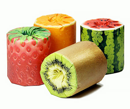 Fruit Toilet Paper Packaging
