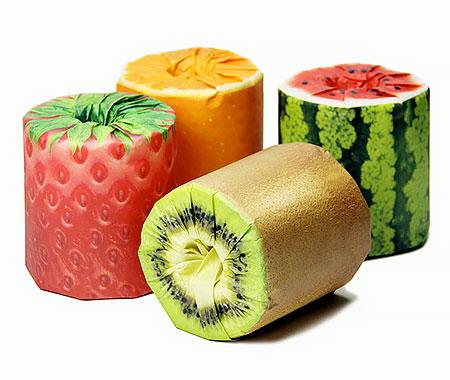 Fruit Toilet Paper Packaging