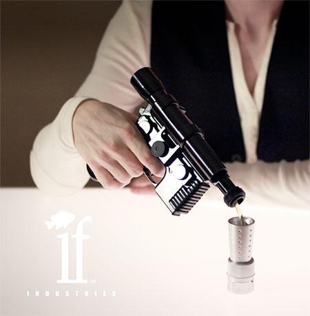 Han Solo Blaster Pistol Flask